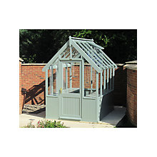 Buy Crane 1.8 x 3m Greenhouse, FSC-certified (Scandinavian Redwood) Online at johnlewis.com