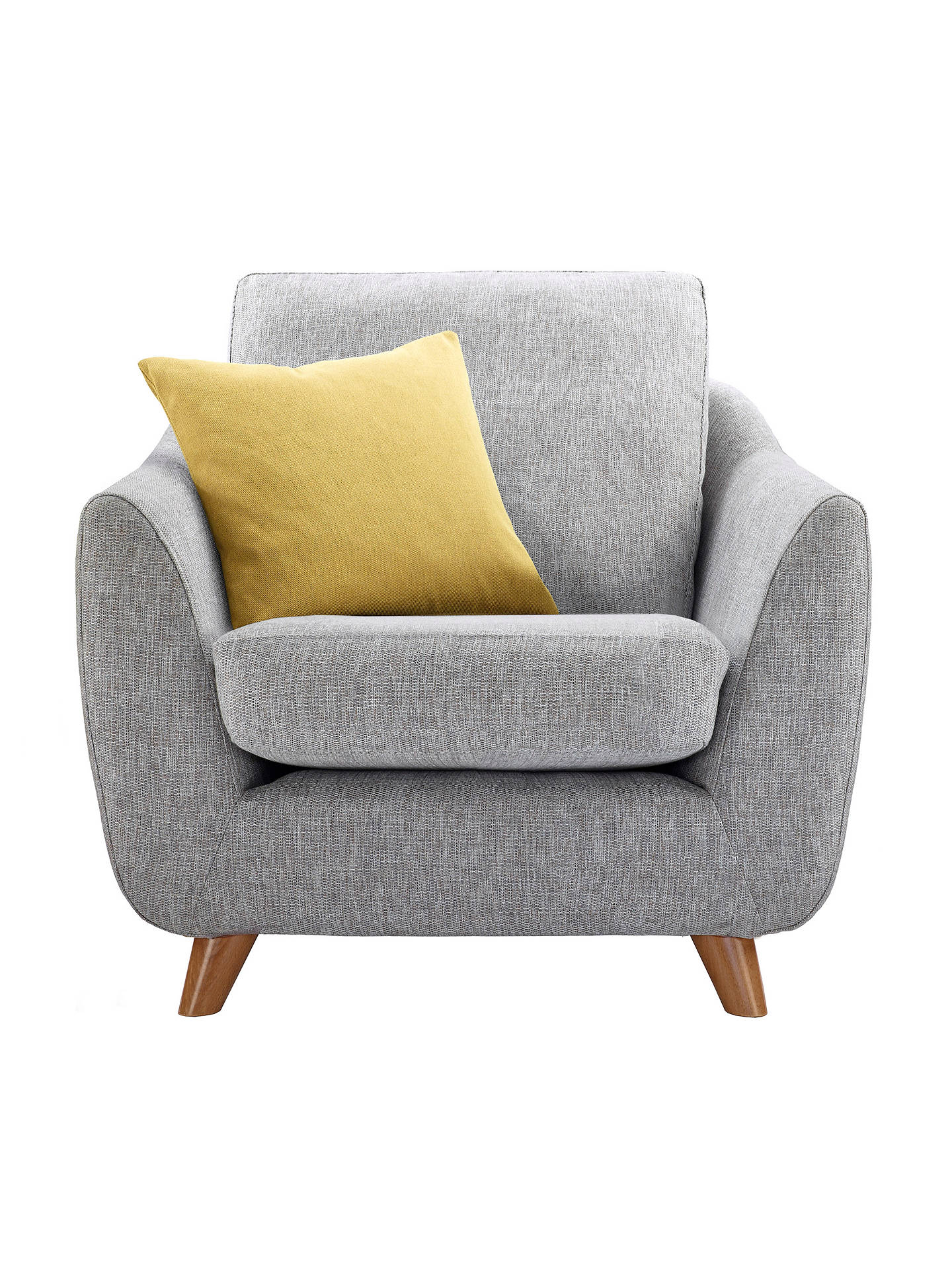 G Plan Vintage The Sixty Seven Armchair, Marl Grey at John ...