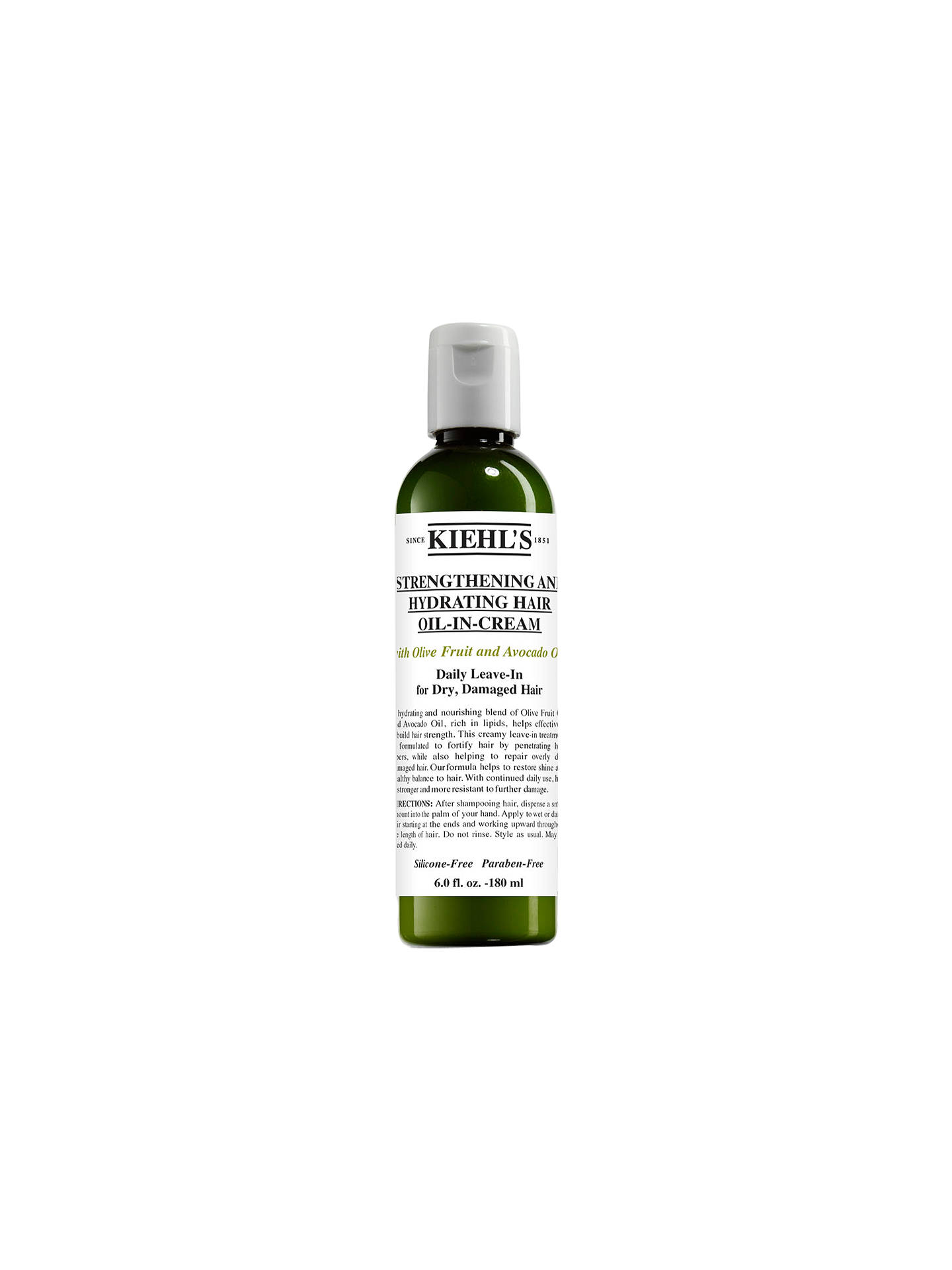 BuyKiehl's Olive & Avocado Leave-in Oil-in-Cream, 180ml Online at johnlewis.com