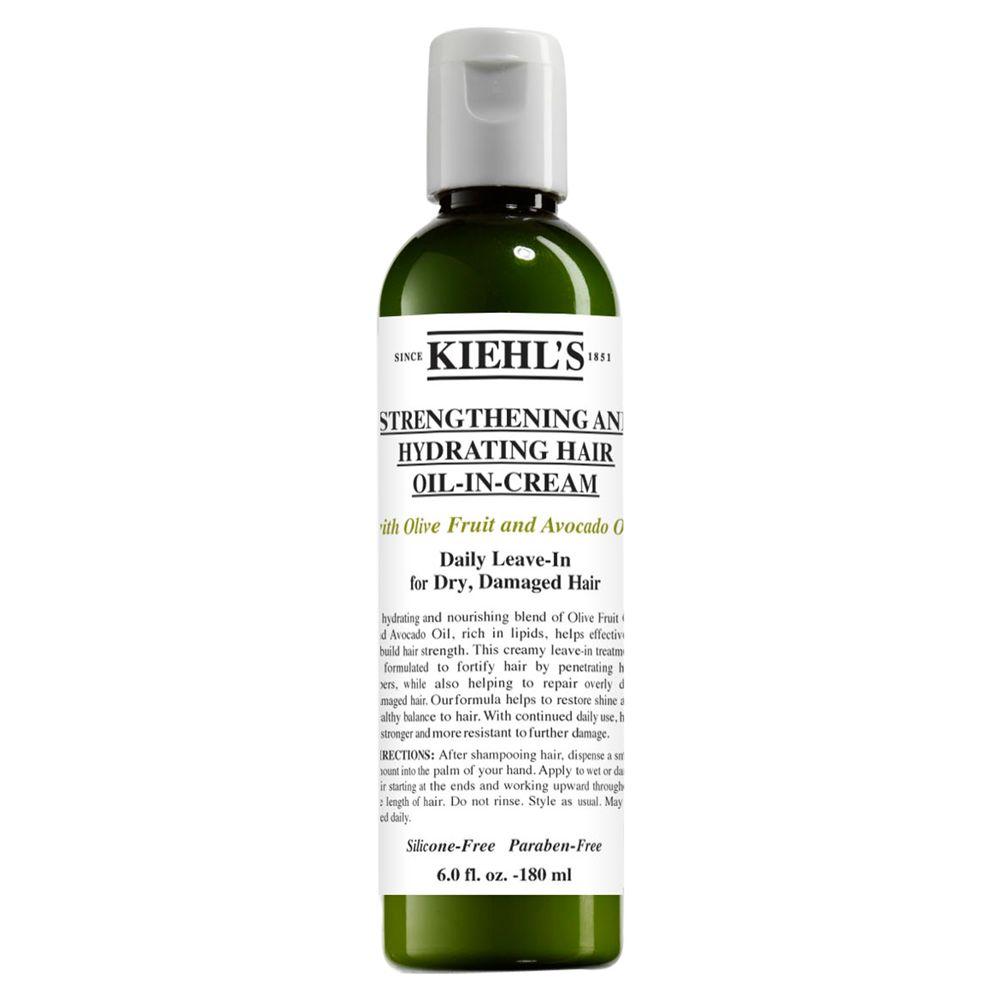 Kiehls Kiehl's Olive & Avocado Leave-in Oil-in-Cream, 180ml