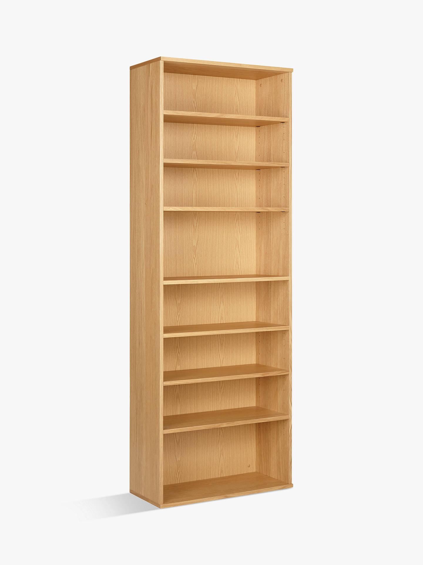 John Lewis Partners Abacus 7 Shelf Bookcase Fsc Certified