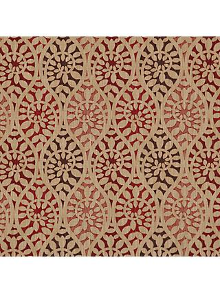 John Lewis & Partners Valera Leaf Furnishing Fabric, Red