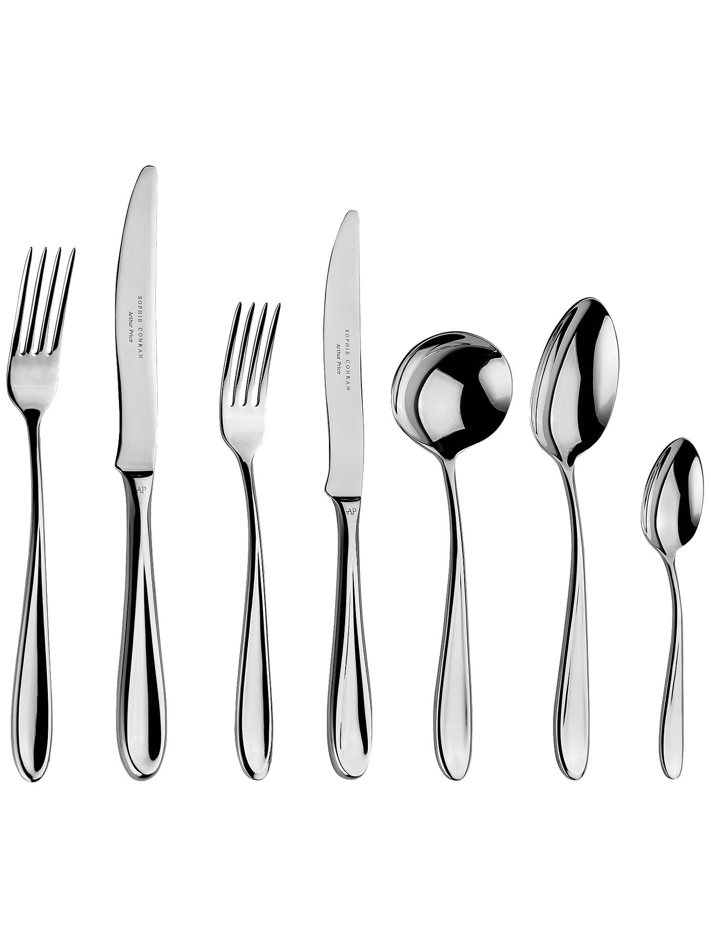 BuySophie Conran for Arthur Price Rivelin Place Setting, 7 Piece Online at johnlewis.com