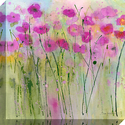 Sue Fenlon - By The Garden Gate Print on Canvas, 40 x 40cm
