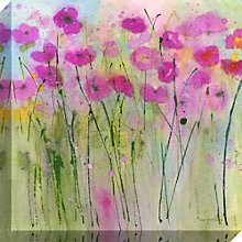 Buy Sue Fenlon - By The Garden Gate Print on Canvas, 40 x 40cm Online at johnlewis.com