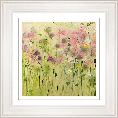 Buy Sue Fenlon - Clover Path Framed Print, 68 x 68cm Online at johnlewis.com