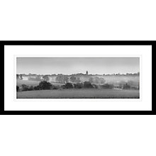Buy David Purdie - Church Panoramic Framed Print, 49 x 109cm Online at johnlewis.com