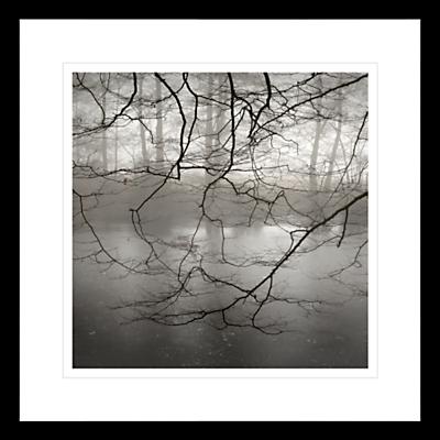 David Purdie – Mist Over Pond Framed Print, 62 x 62cm