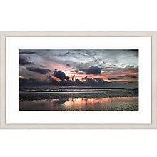 Buy David Purdie - Red Sunset Framed Print, 67 x 107cm Online at johnlewis.com