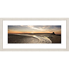 Buy David Purdie - Rye Hardour Sunset Framed Print, 52 x 107cm Online at johnlewis.com