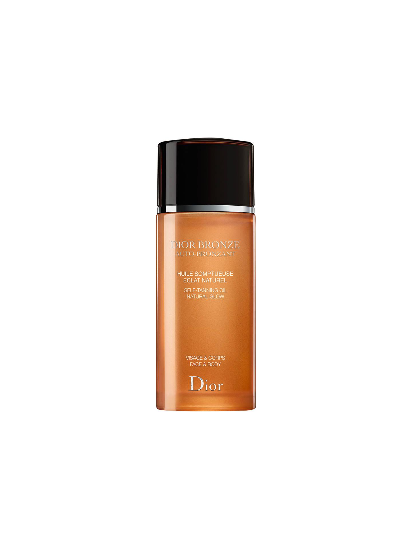 08d4528e Dior Dior Bronze Self Tanning Oil Natural Glow - Face & Body, 100ml ...