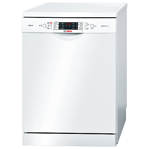 Buy Bosch SMS65E22GB Dishwasher, White Online at johnlewis.com