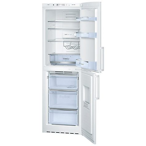 Buy Bosch KGN34VW20G No Frost Fridge Freezer, A+ Energy Rating, 60cm Wide, White Online at johnlewis.com