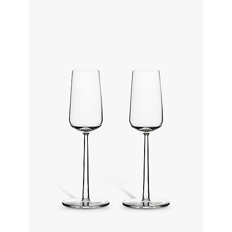 Buy Iittala Essence Champagne Flutes, 0.21L, Set of 2 Online at johnlewis.com