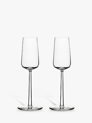 Iittala Essence Champagne Flutes, 210ml, Set of 2, Clear