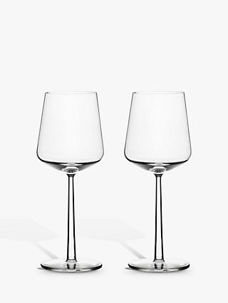 Iittala Essence Red Wine Glasses, 450ml, Set of 2, Clear