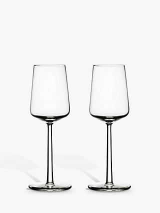 Iittala Essence White Wine Glasses, 330ml, Set of 2, Clear