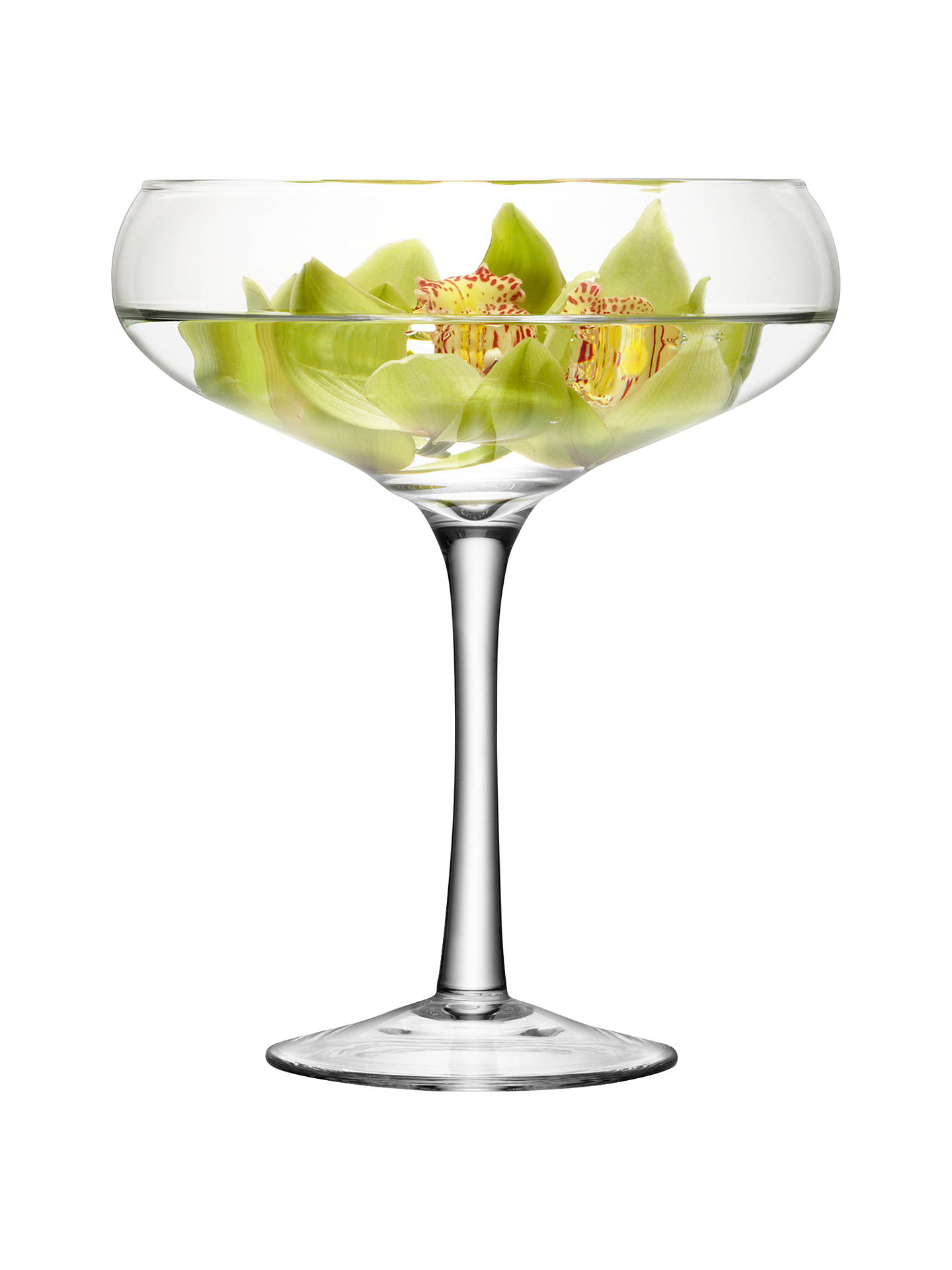 BuyLSA International Midi Champagne Saucer, H34cm Online at johnlewis.com