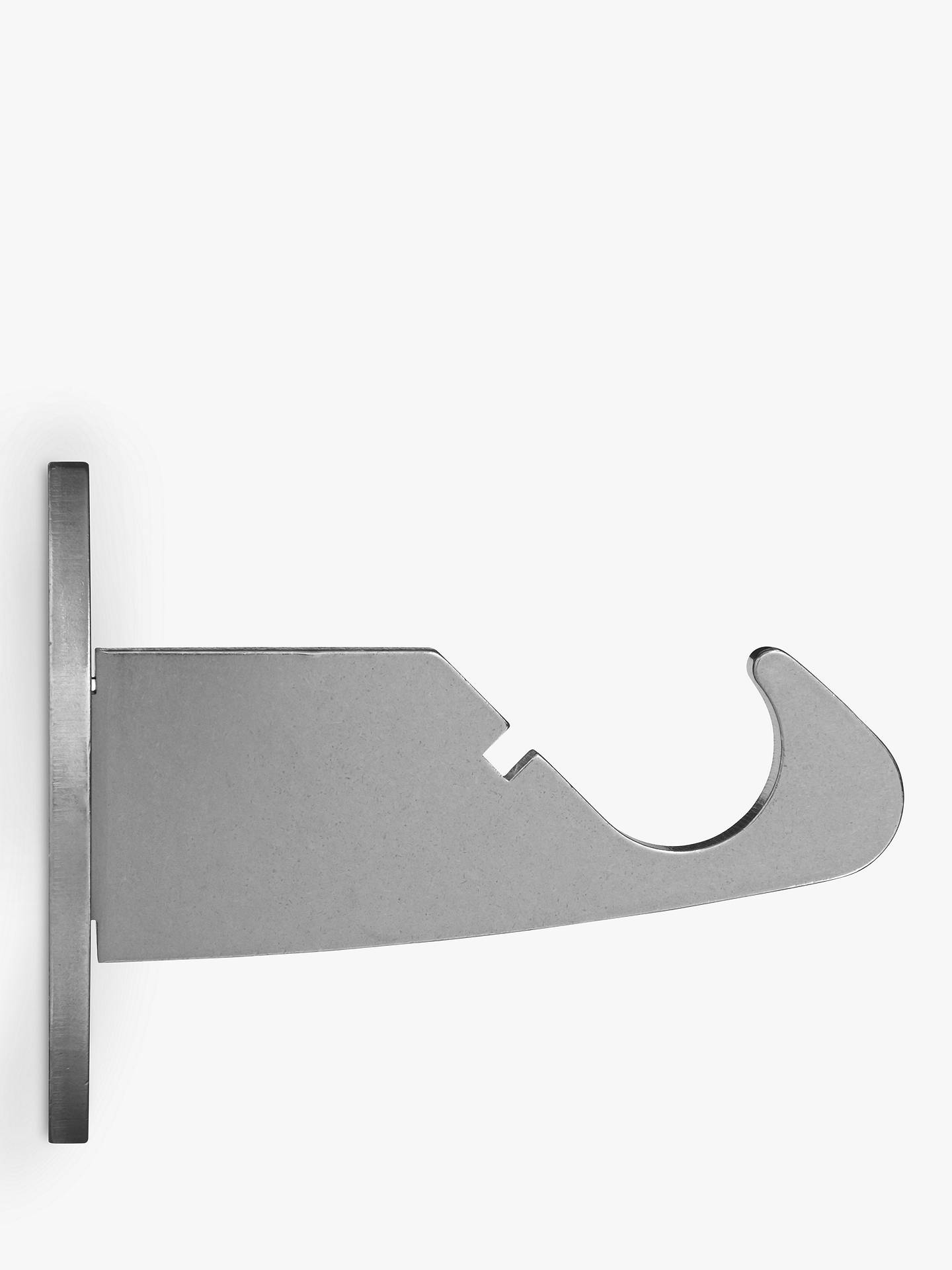 BuyJohn Lewis & Partners Stainless Steel Side Bracket, Dia.19mm Online at johnlewis.com