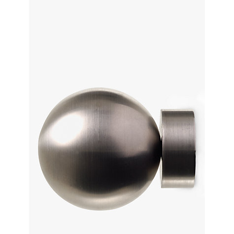 Buy John Lewis Stainless Steel Ball Finial, Dia.25mm Online at johnlewis.com