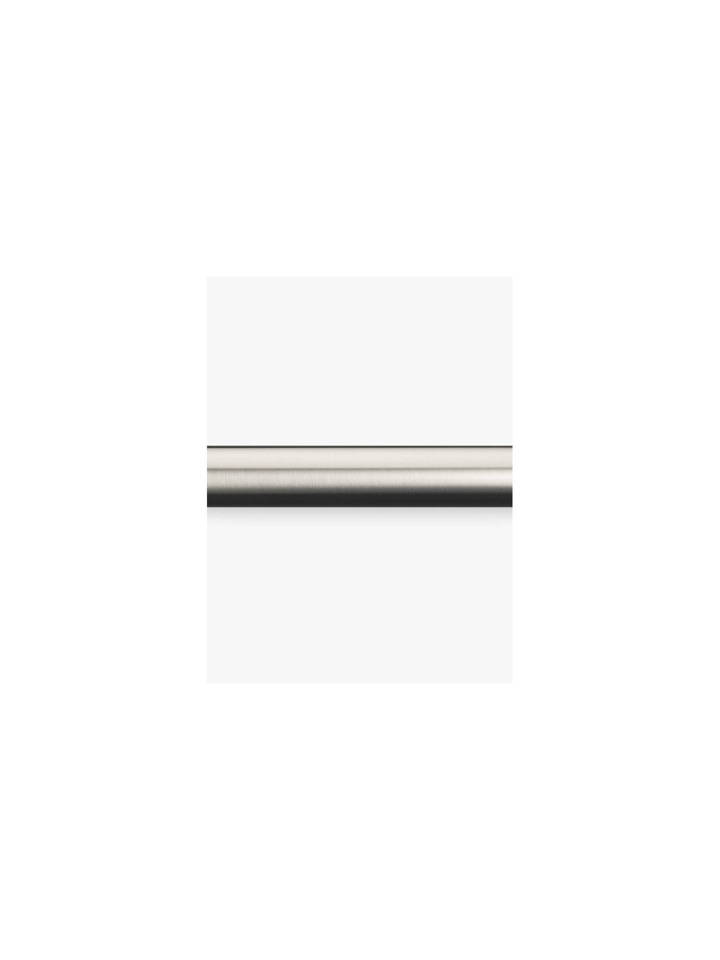 BuyJohn Lewis & Partners Stainless Steel Curtain Pole, L180cm x Dia.30mm Online at johnlewis.com