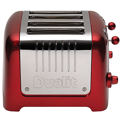 Dualit Lite 4-Slice Toaster with Warming Rack