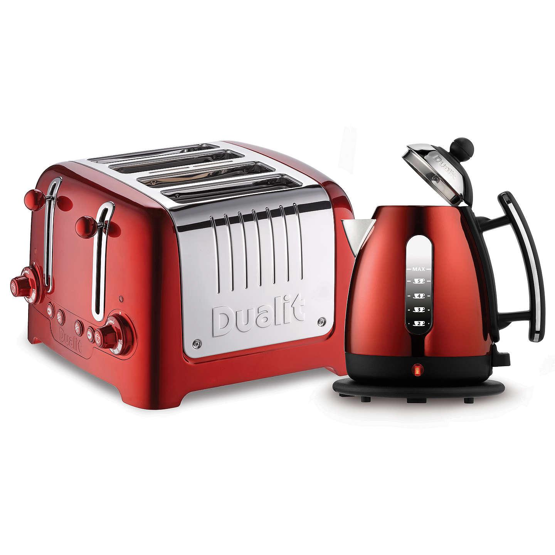 Dualit Lite 4 Slice Toaster With Warming Rack At John Lewis