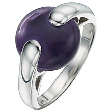 Buy A B Davis Sterling Silver Gemstone Pebble Ring Online at johnlewis.com