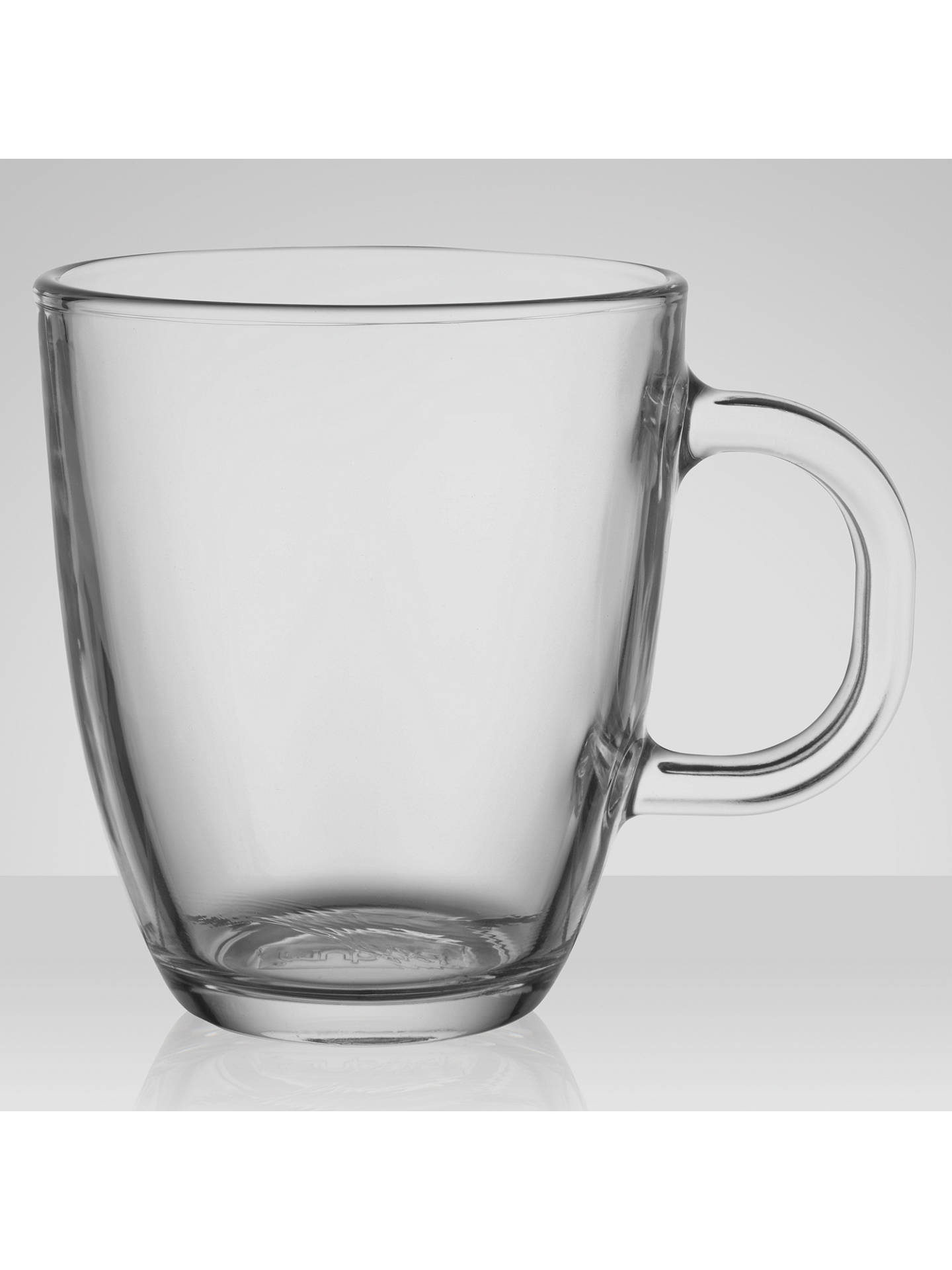 Bodum Bistro Coffee Mug Clear Glass At John Lewis Partners