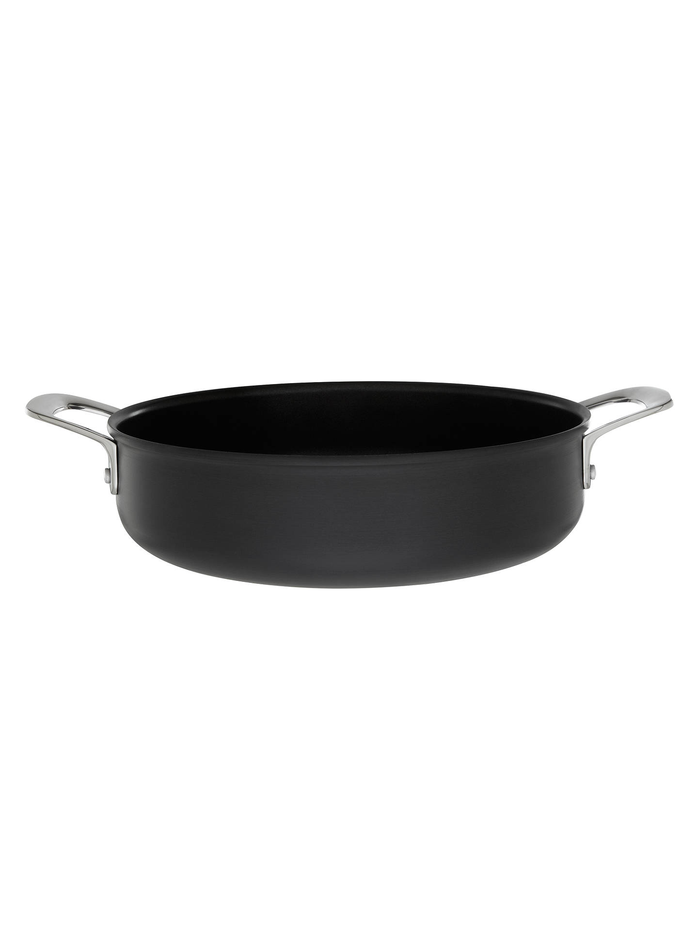 Jamie Oliver By Tefal Hard Anodised Shallow Pan With Lid