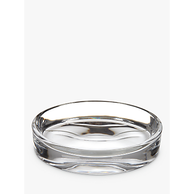 John Lewis Croft Collection Glass Soap Dish, Clear