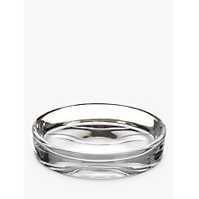 Buy John Lewis Croft Collection Glass Soap Dish, Clear Online at johnlewis.com