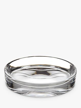 John Lewis & Partners Glass Soap Dish, Clear