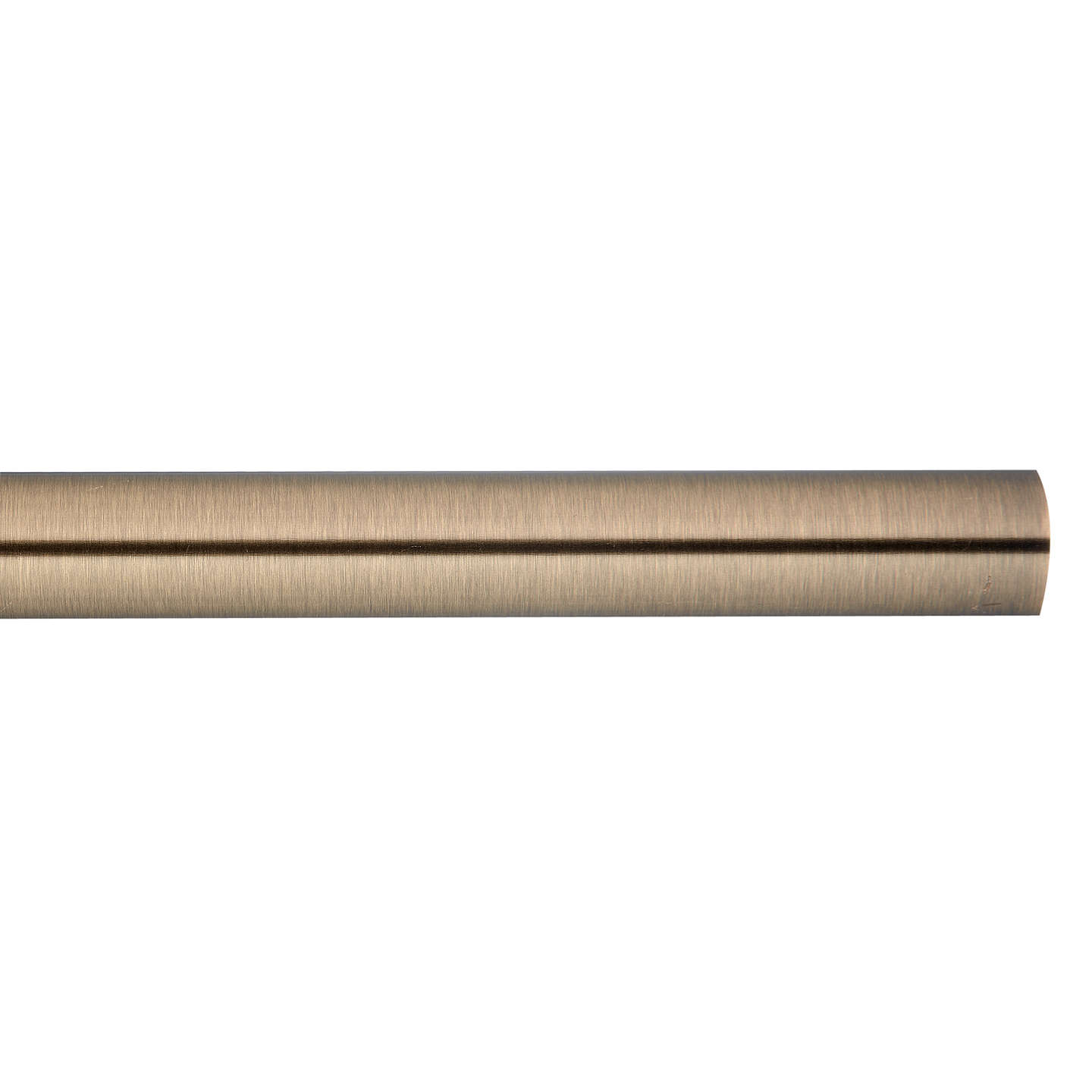 BuyJohn Lewis Antique Brass Curtain Pole, L180cm x Dia.28mm Online at johnlewis.com