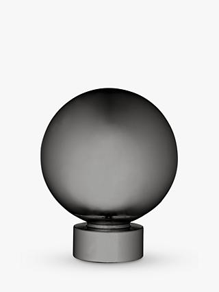 John Lewis & Partners Gunmetal Ball Finial, Dia.28mm