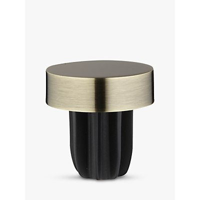 Product photo of John lewis antique brass stud finial dia 28mm