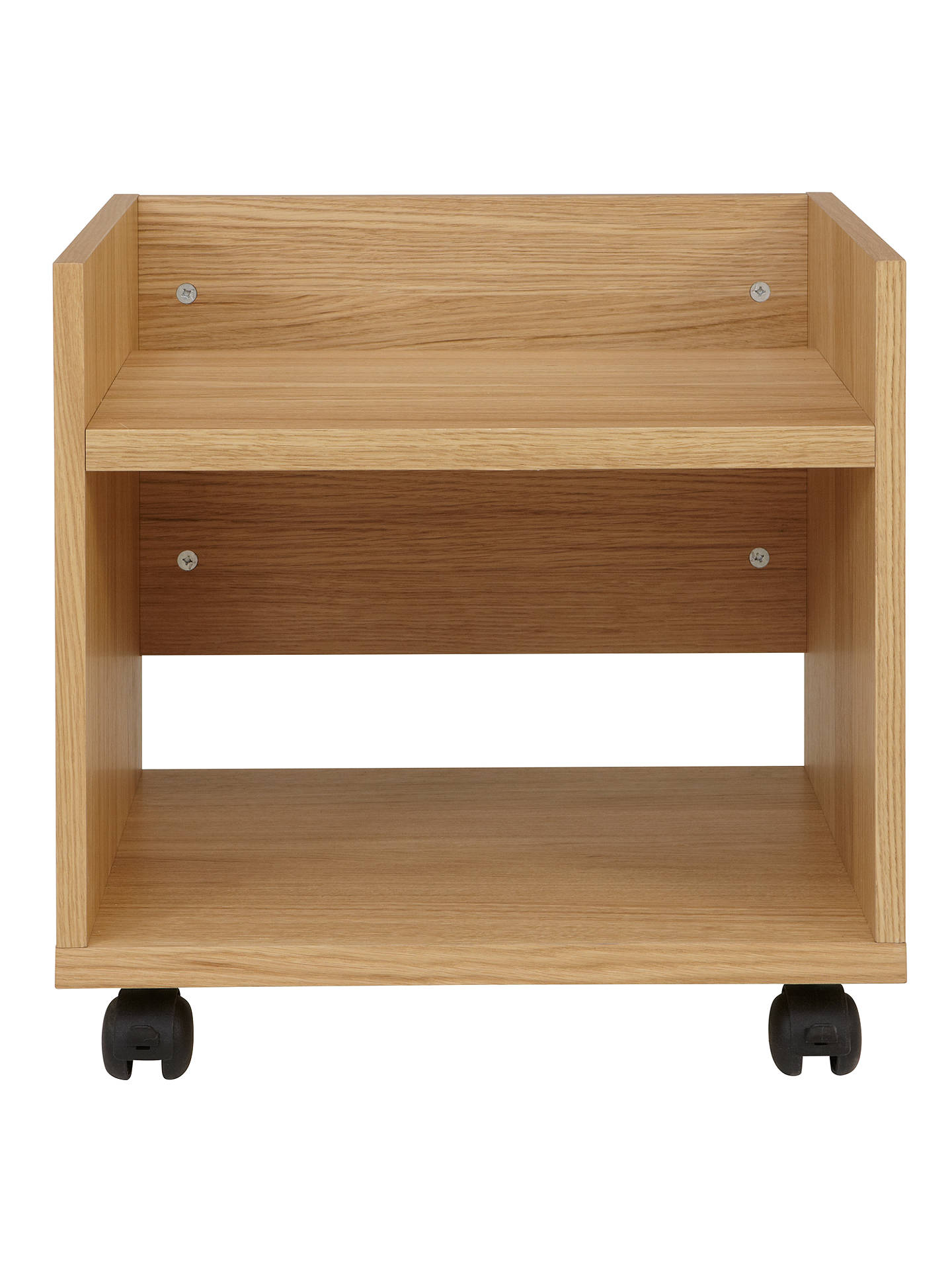 BuyJohn Lewis & Partners Abacus Printer Trolley, FSC-Certified, Oak Online at johnlewis.com