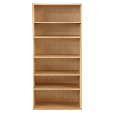 Buy John Lewis Abacus 5 Shelf Bookcase, FSC-Certified Online at johnlewis.com