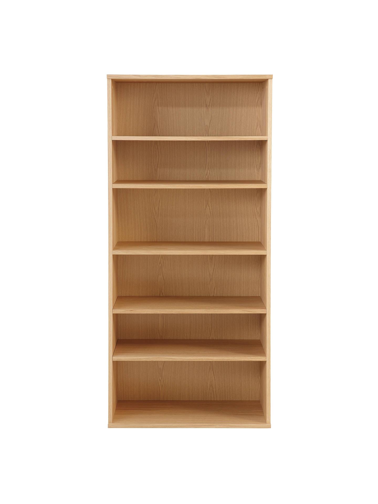 John Lewis Partners Abacus 5 Shelf Bookcase Fsc Certified