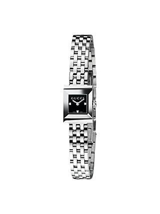 82b044f5ed0 Gucci YA128507 Women s G-Frame Square Dial Bracelet Strap Watch