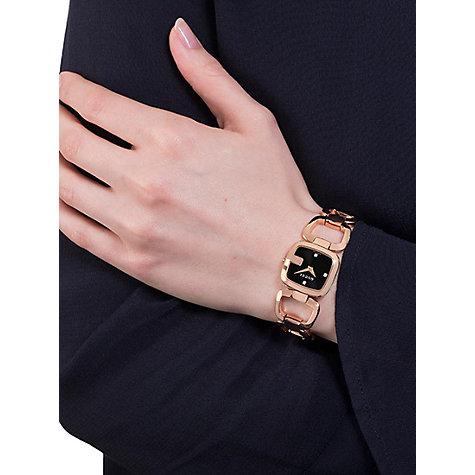 Buy Gucci YA Womens G Gucci Diamond Open Bracelet Strap