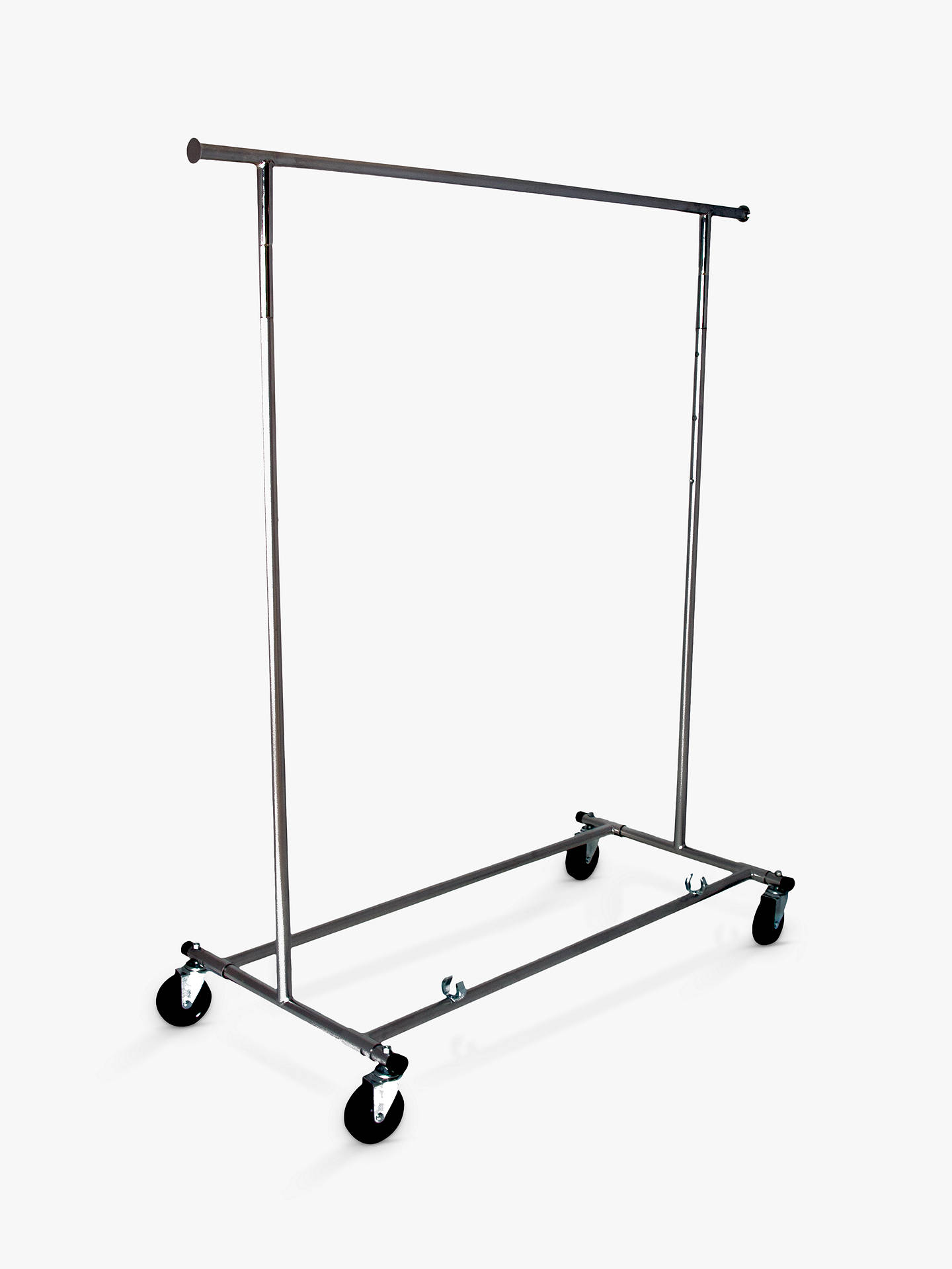 BuyJohn Lewis & Partners Chrome Collapsible Clothes Rail Online at johnlewis.com