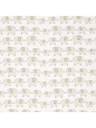 Buy John Lewis & Partners Eli Elephant Fabric, Grey Online at johnlewis.com