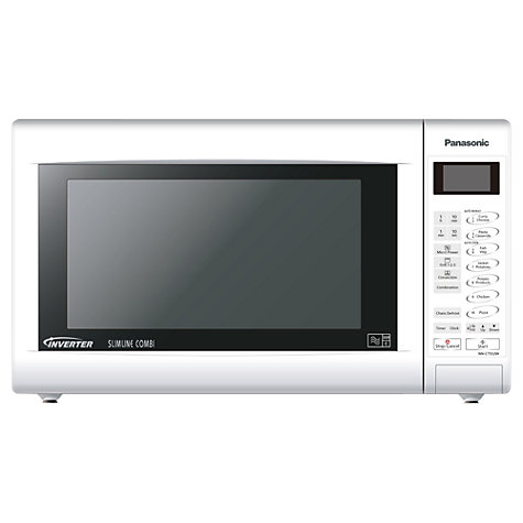 Panasonic Nn Ct552w Slimline Combination Microwave White Online At Johnlewis