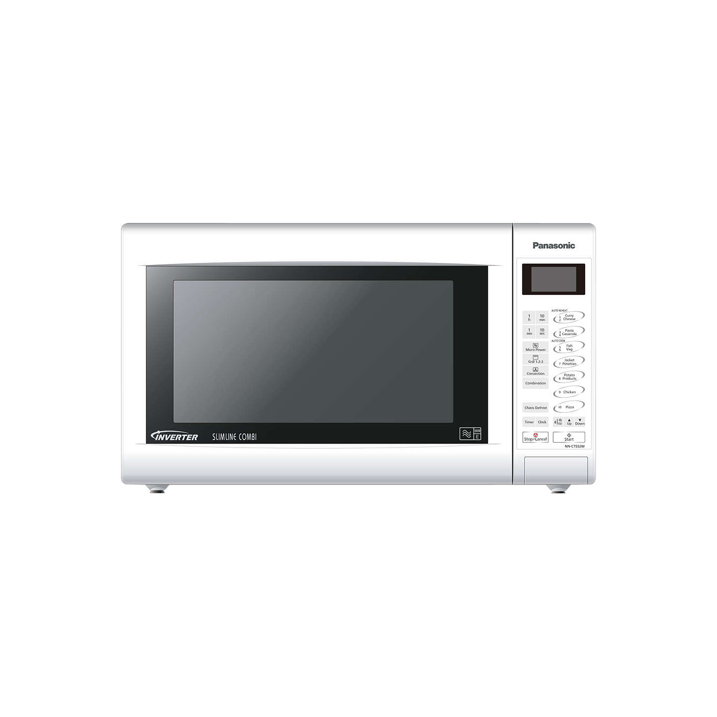 Panasonic Nn Ct552w Slimline Combination Microwave White