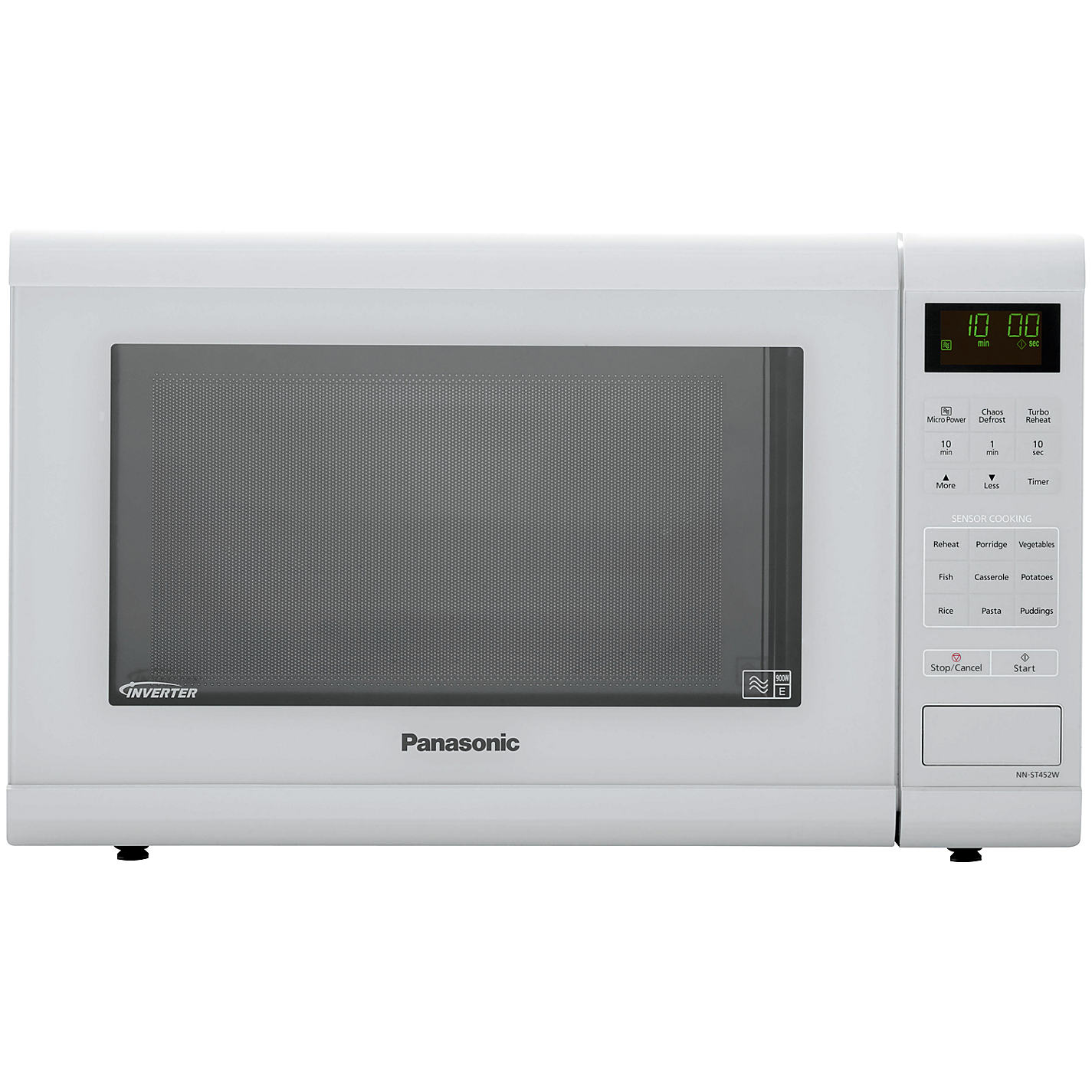 Panasonic Nn St452wbpq Microwave Oven White Online At Johnlewis