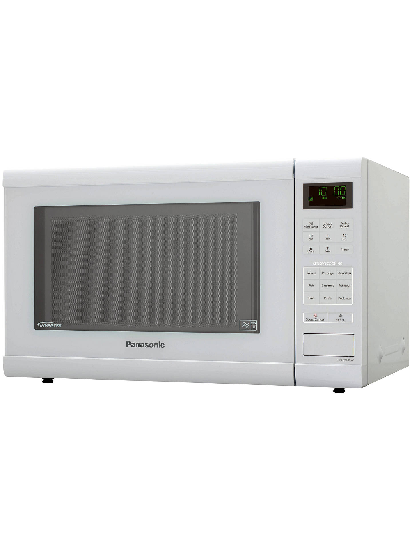 BuyPanasonic NN-ST452WBPQ Microwave Oven, White Online at johnlewis.com