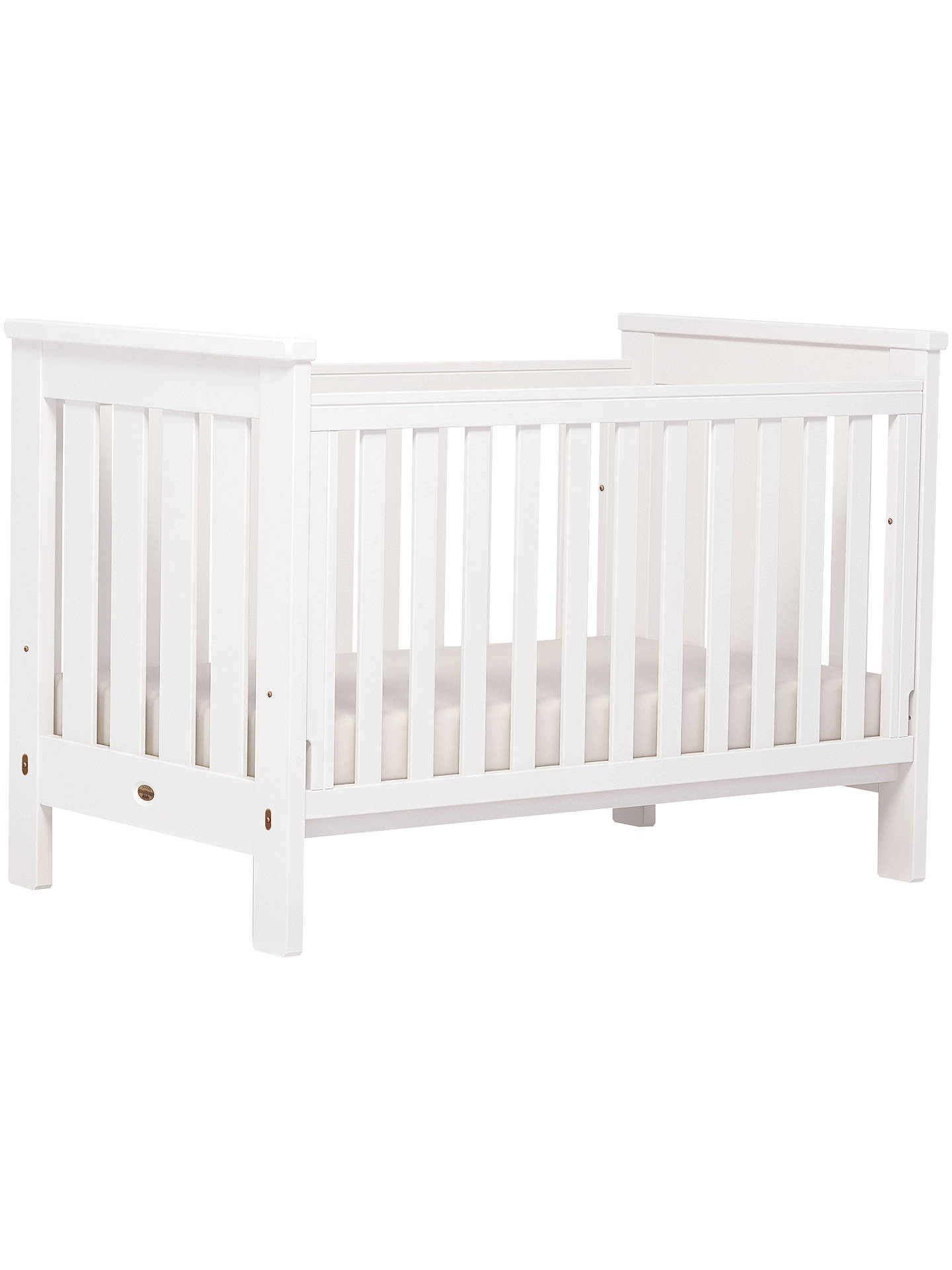 online store c1baf 7a7d3 Boori Pioneer Cotbed, White at John Lewis & Partners