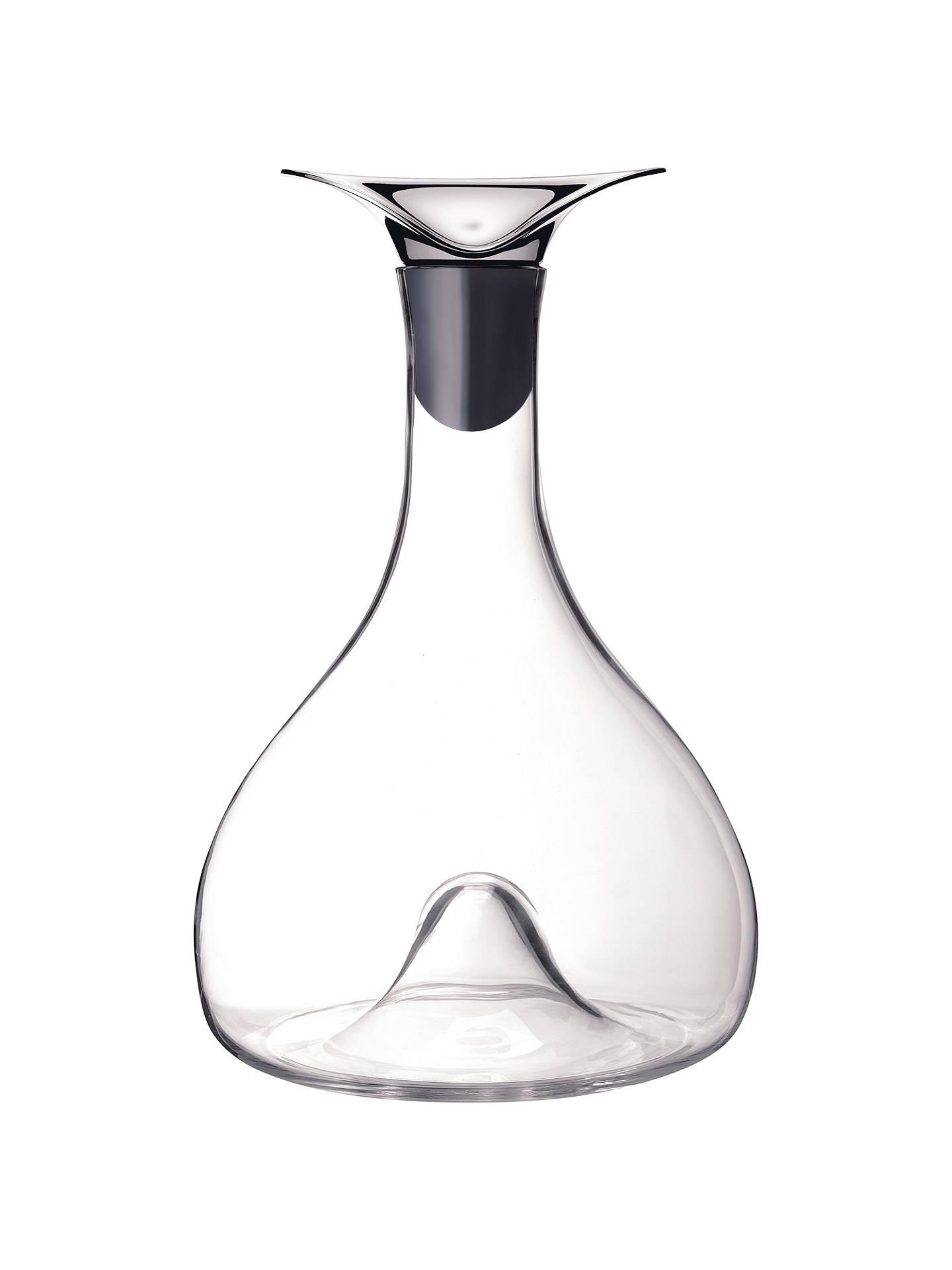 Buy Georg Jensen Wine Carafe, H26.7cm, Silver Online at johnlewis.com