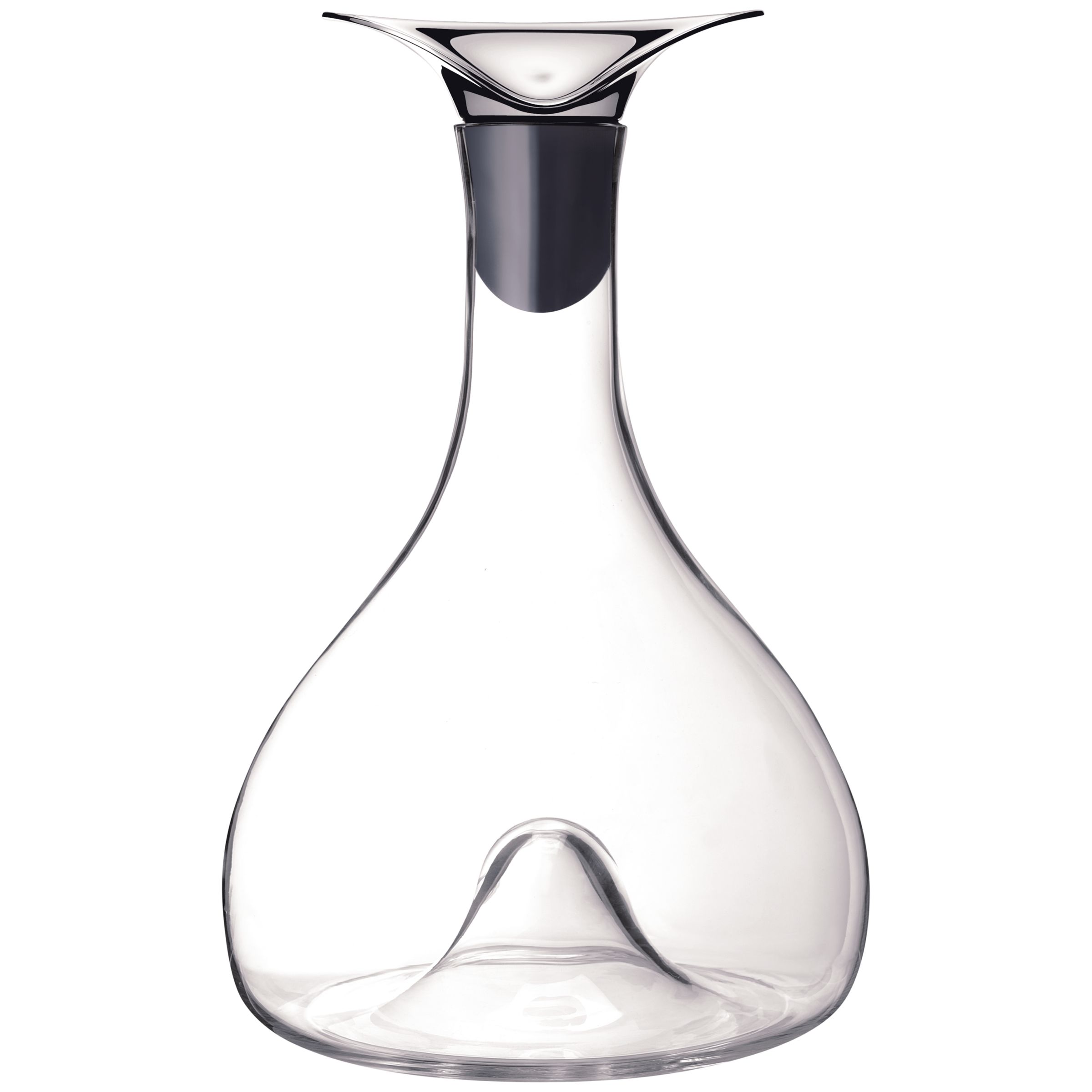 Buy Georg Jensen Wine Carafe, H26.7cm, Silver Online at johnlewis.com